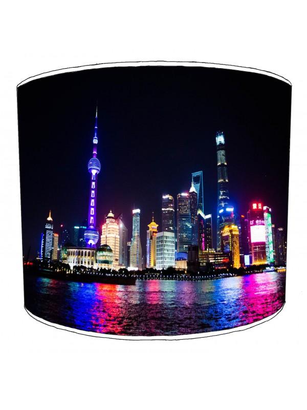 city of shanghai lampshade 1