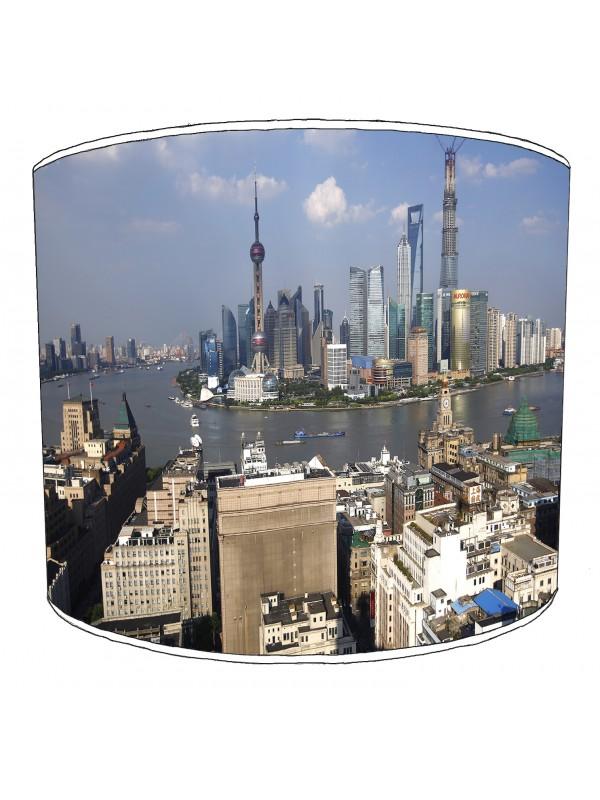city of shanghai lampshade 3