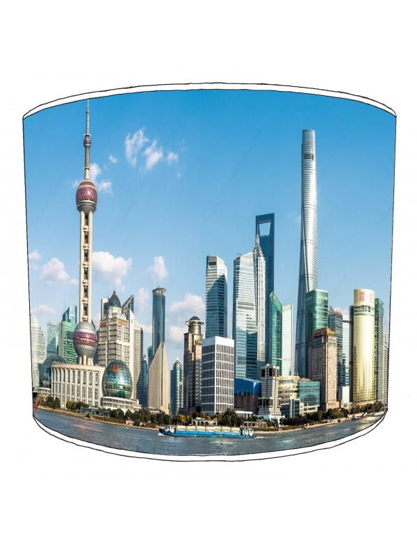 city of shanghai lampshade 5