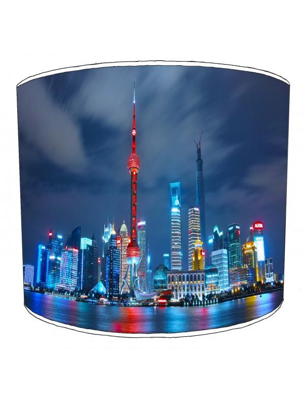 city of shanghai lampshade 6