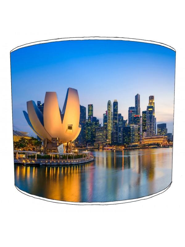 city of singapore lampshade 4