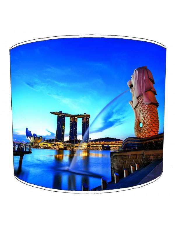 city of singapore lampshade 5