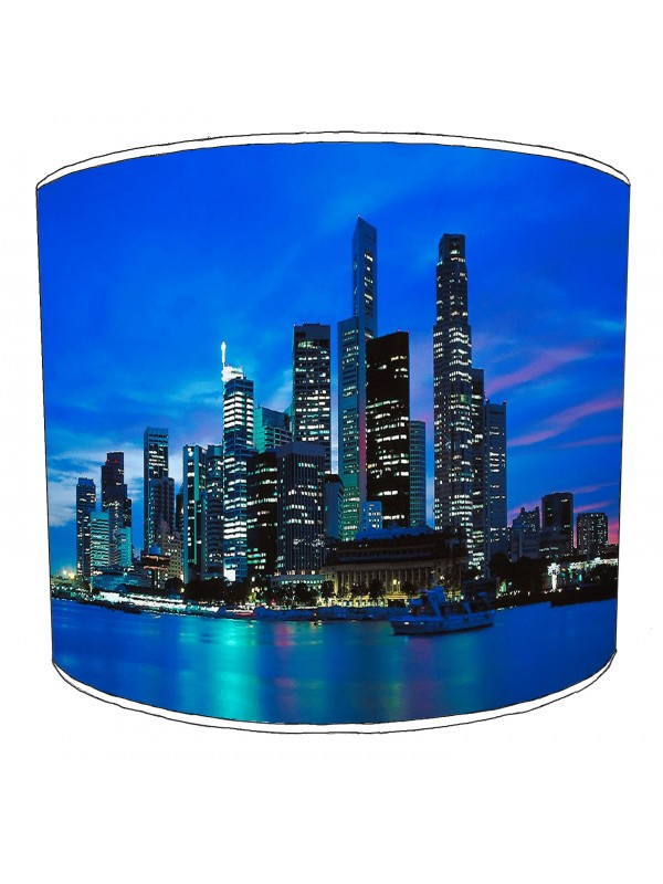 city of singapore lampshade 6