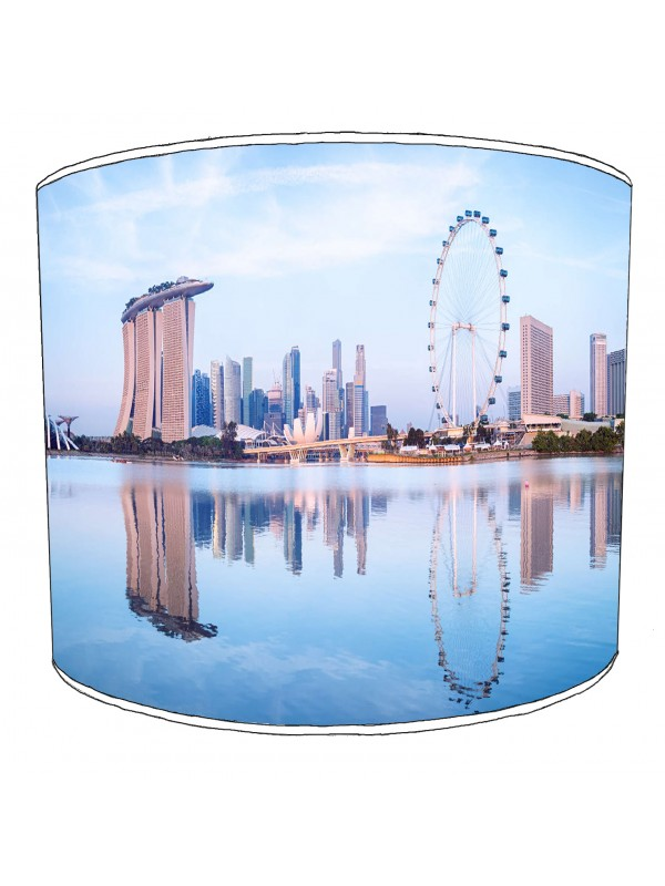 city of singapore lampshade 8
