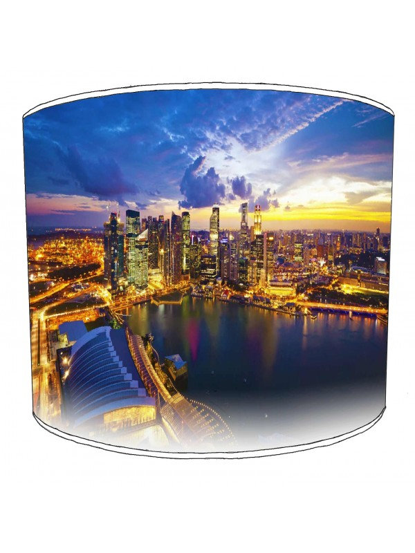 city of singapore lampshade 9