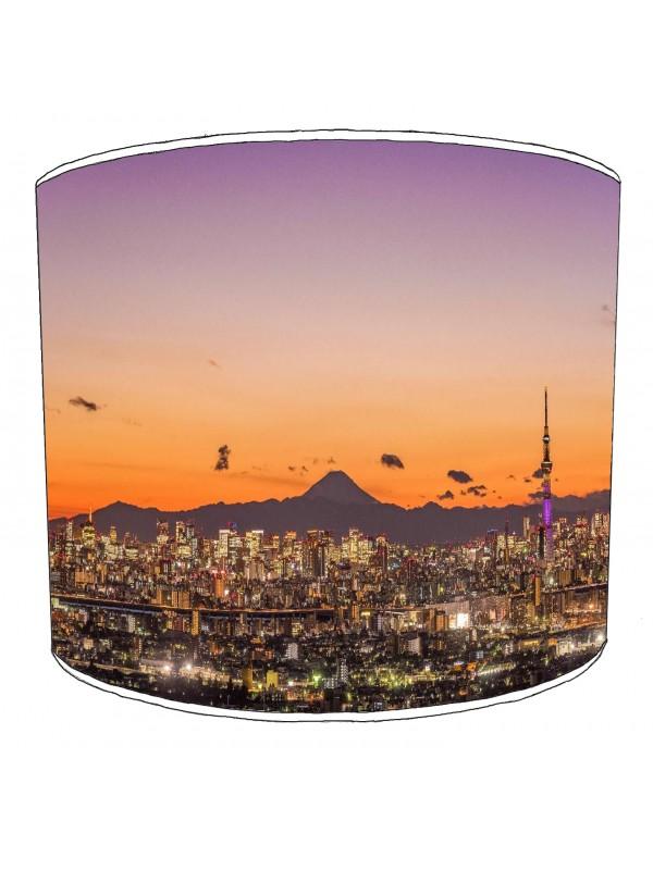 city of tokyo lampshade 1
