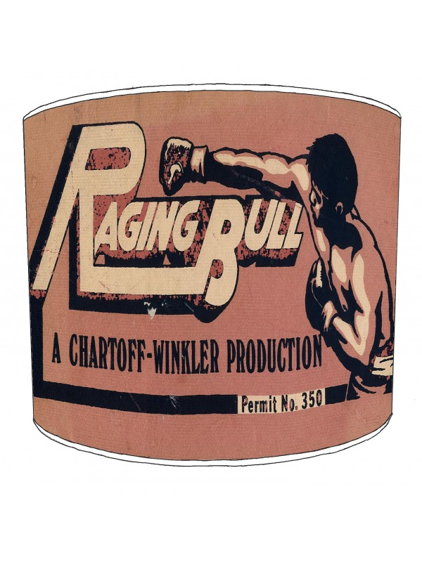 raging bull boxing lampshade 8
