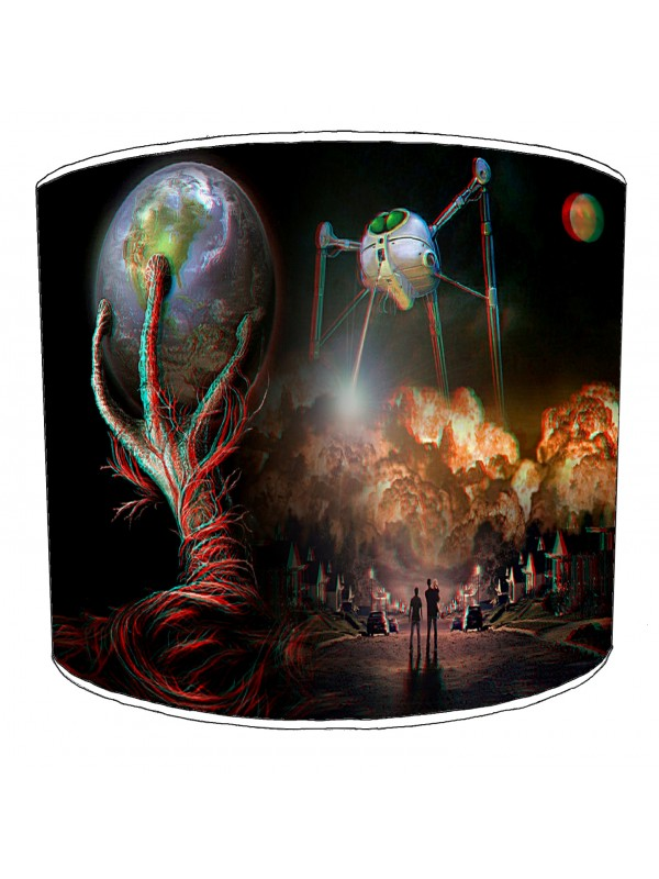 war of the worlds lampshade 1