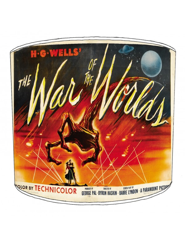 war of the worlds lampshade 13