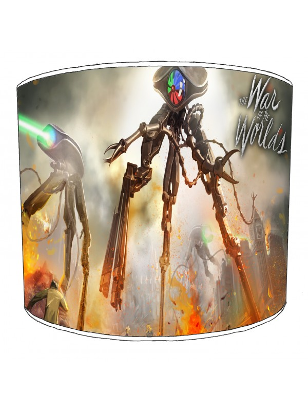 war of the worlds lampshade 16
