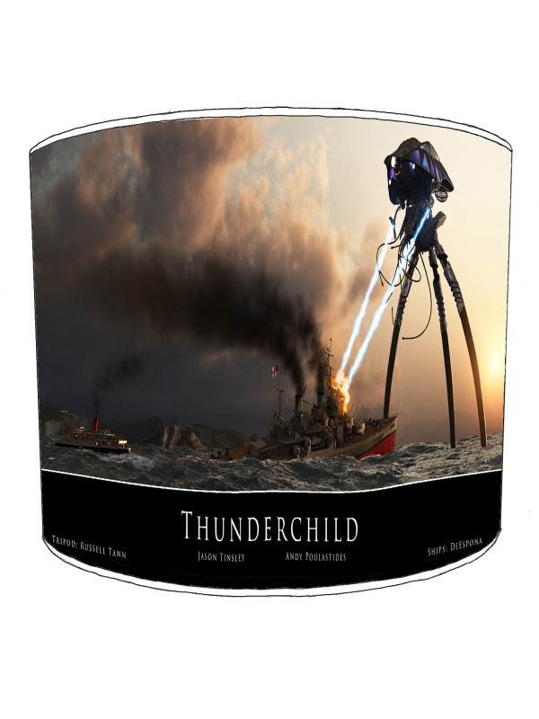 war of the worlds lampshade 2