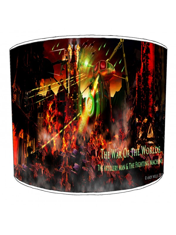 war of the worlds lampshade 5