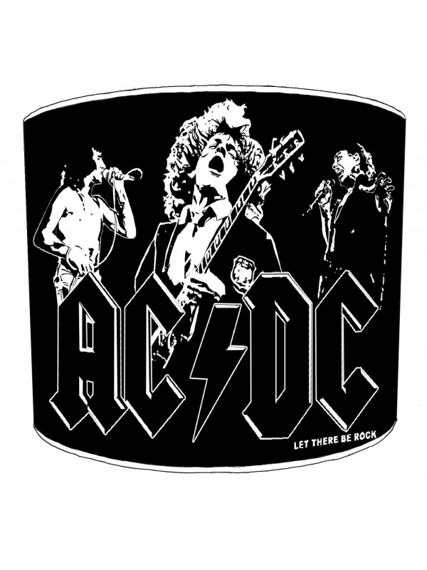 ac dc let there be rock lampshade