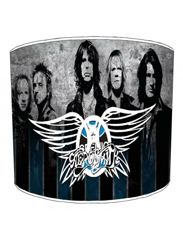 aerosmith rock bands lampshade 2