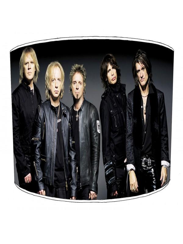 aerosmith rock bands lampshade 4