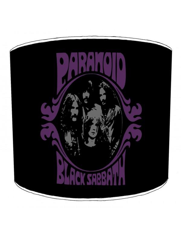 black sabbath paranoid lampshade