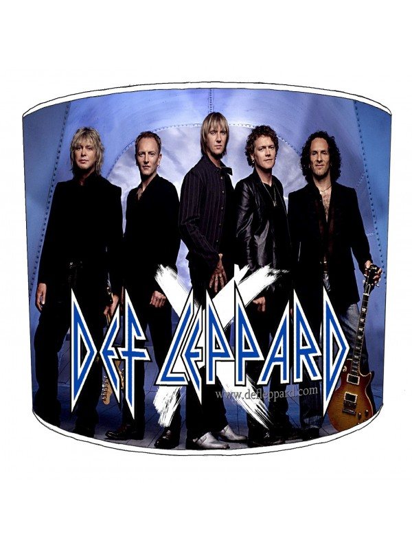 def leppard lampshade 1