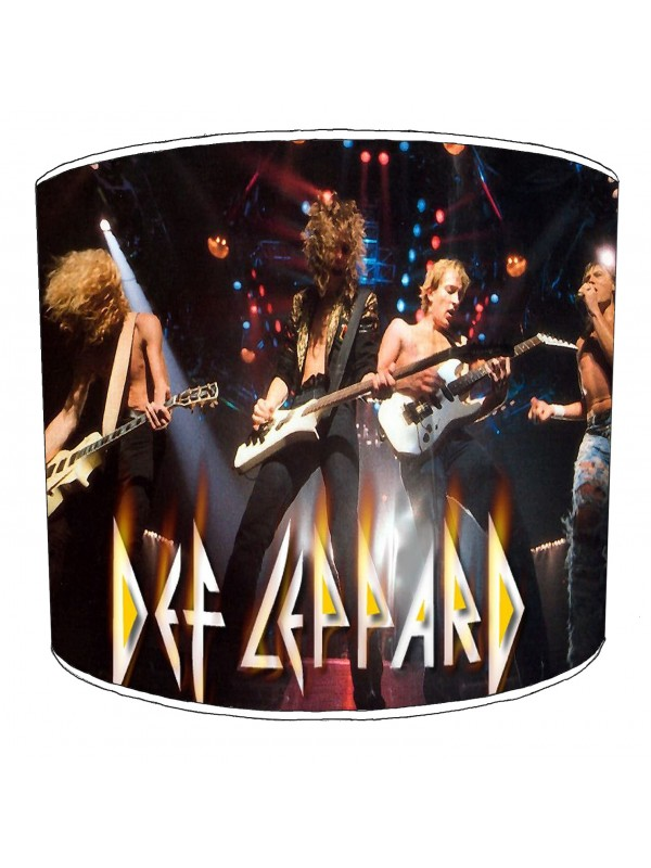 def leppard lampshade 3