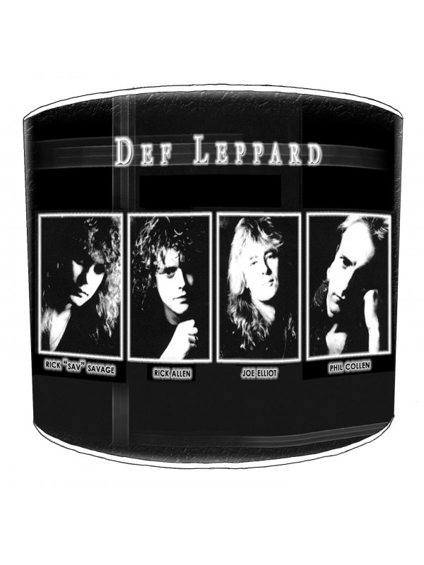 def leppard lampshade 4