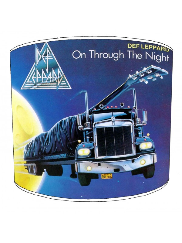 def leppard lampshade 6
