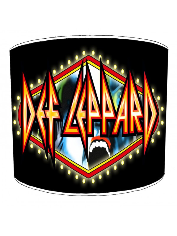 def leppard lampshade 8