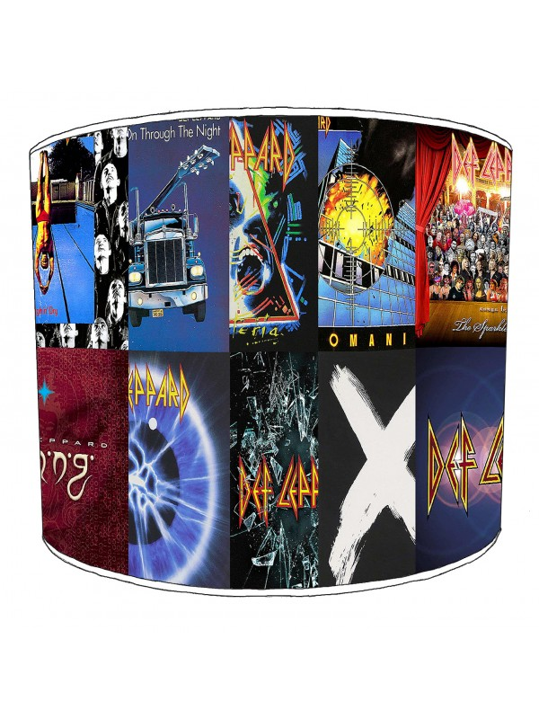 def leppard lampshade 9