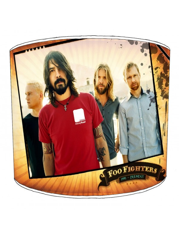 foo fighter rock bands lampshade 2