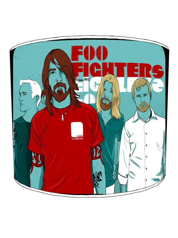 foo fighter rock bands lampshade 3