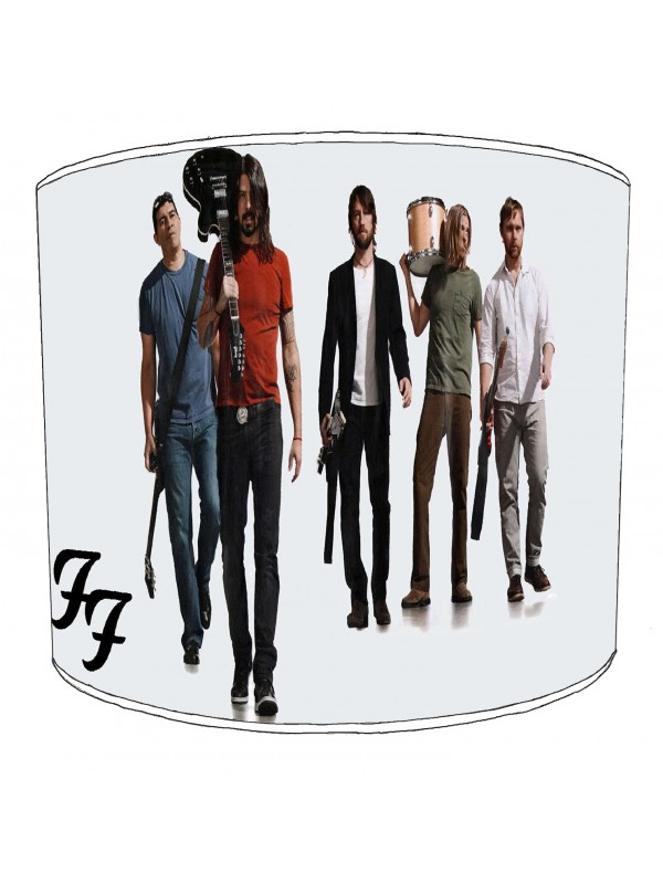 foo fighter rock bands lampshade 4