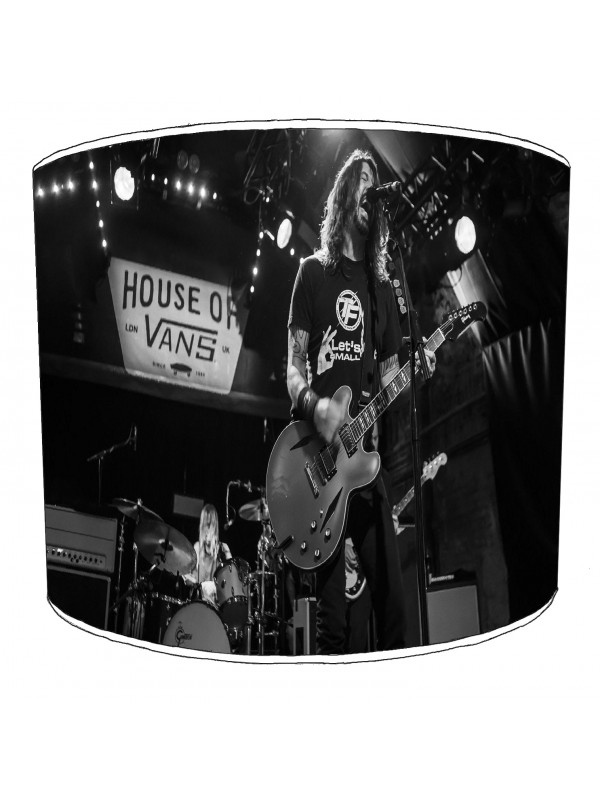 foo fighter rock bands lampshade 5