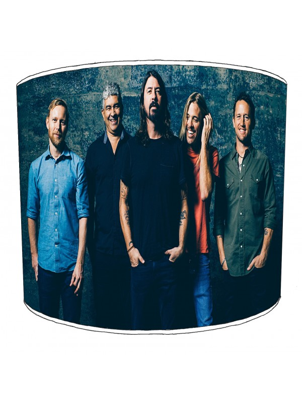 foo fighter rock bands lampshade 6