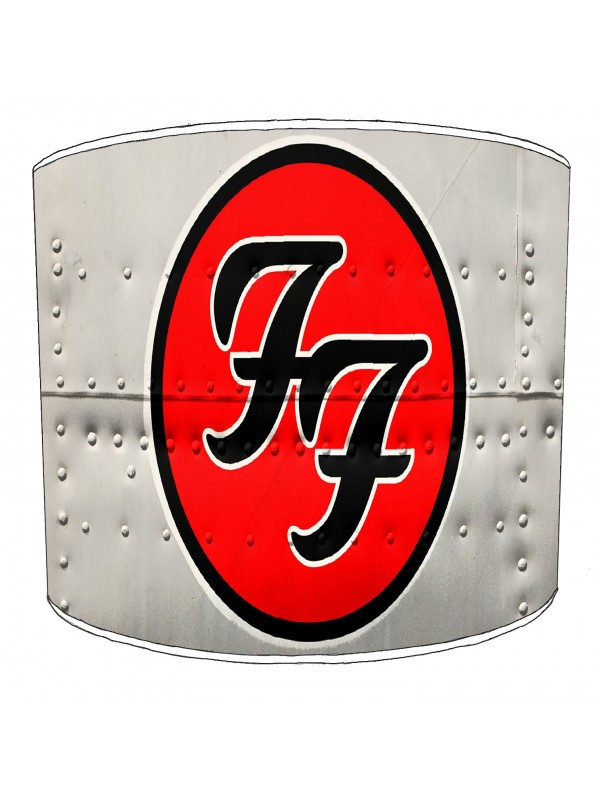 foo fighter rock bands lampshade 7