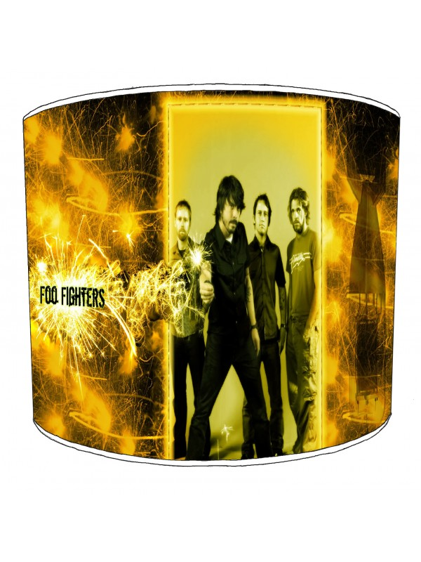 foo fighter rock bands lampshade 8