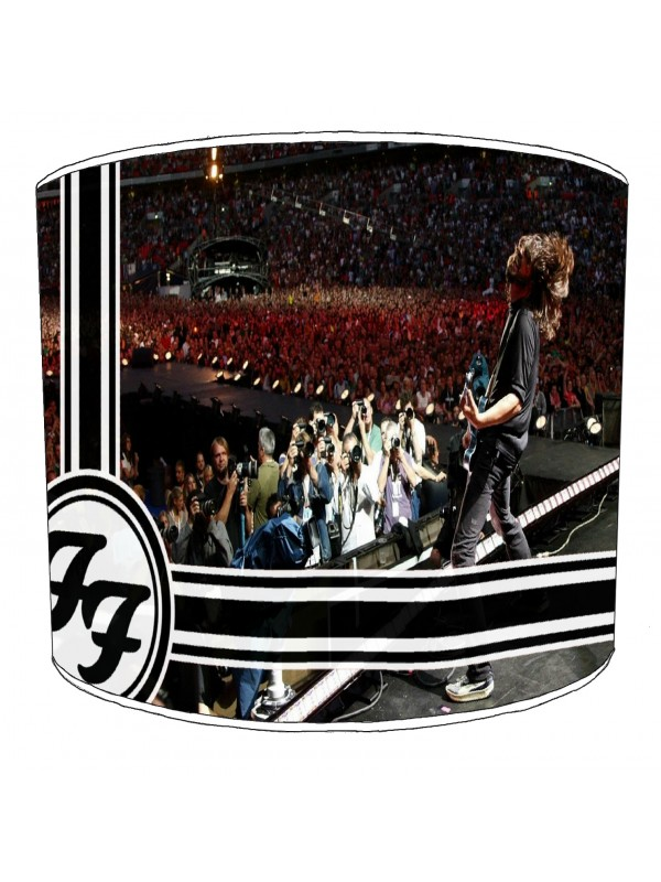 foo fighter rock bands lampshade 9