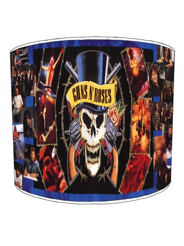guns n rose rock bands lampshade 3