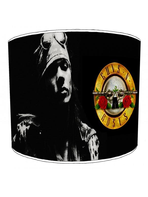 guns n rose rock bands lampshade 4