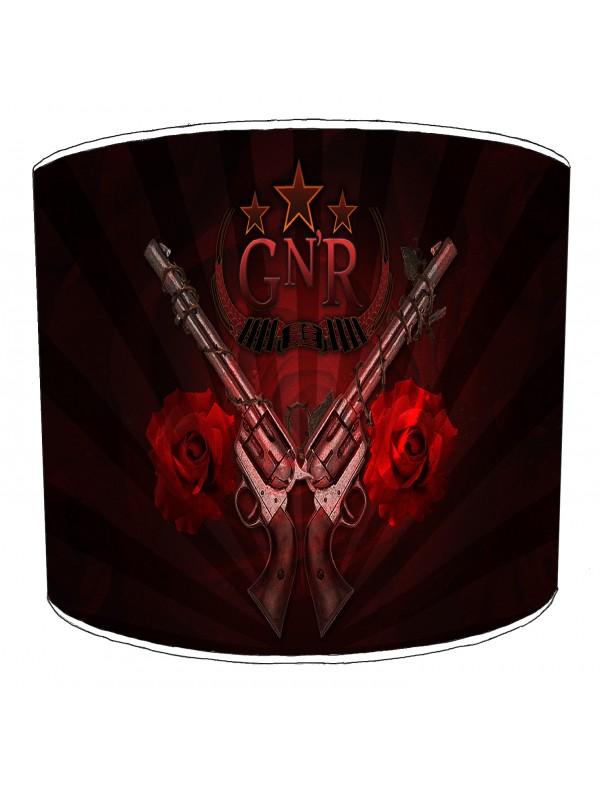 guns n rose rock bands lampshade 6