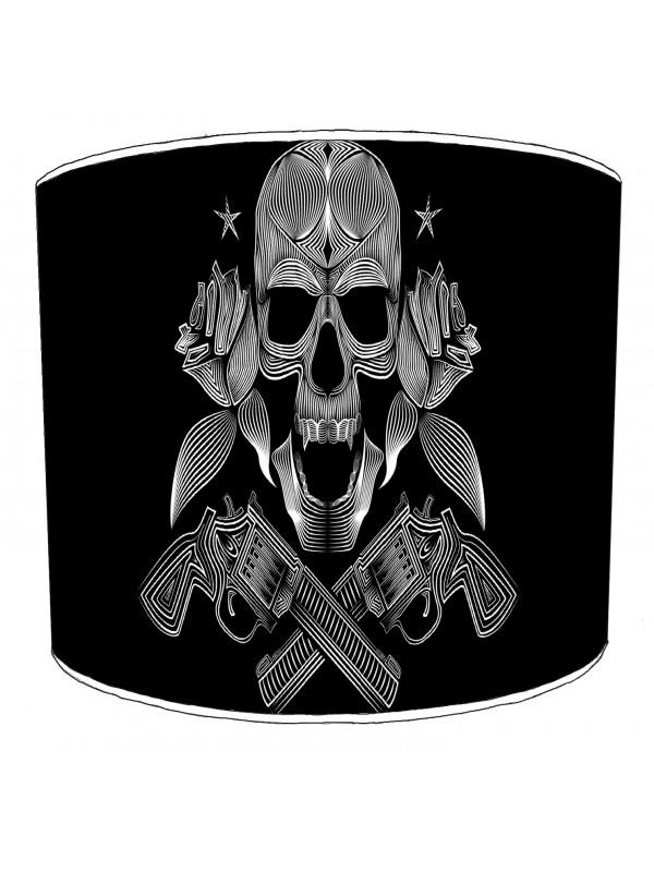 guns n rose rock bands lampshade 9