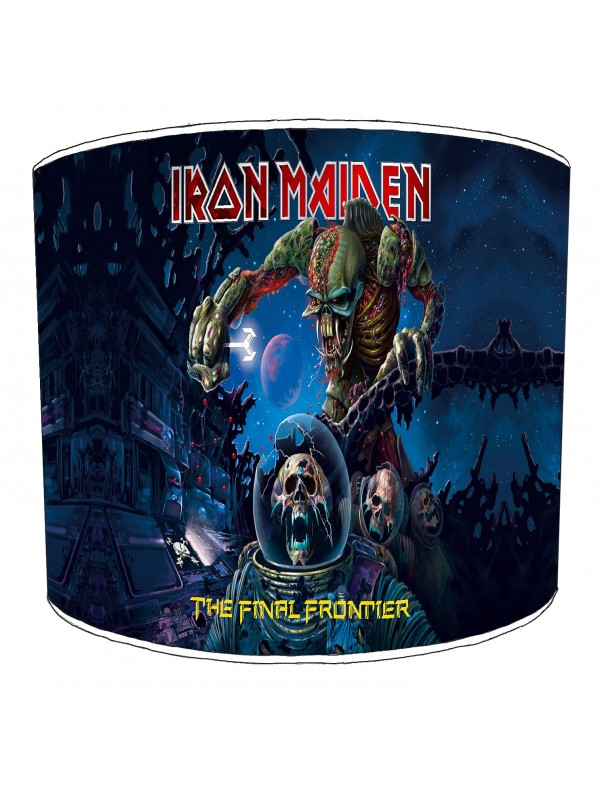 iron maiden the final frontier lampshade