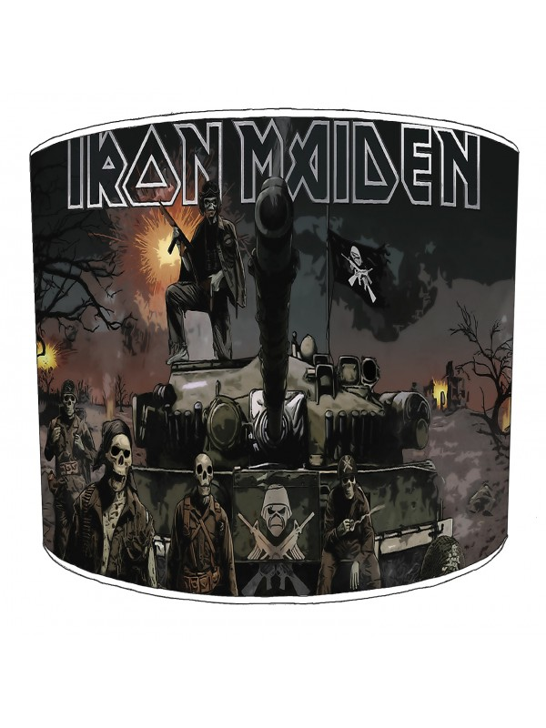 iron maiden a matter of life and death lampshade