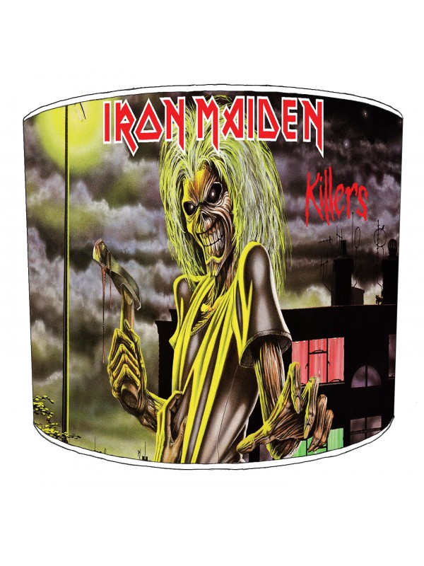 iron maiden killers lampshade