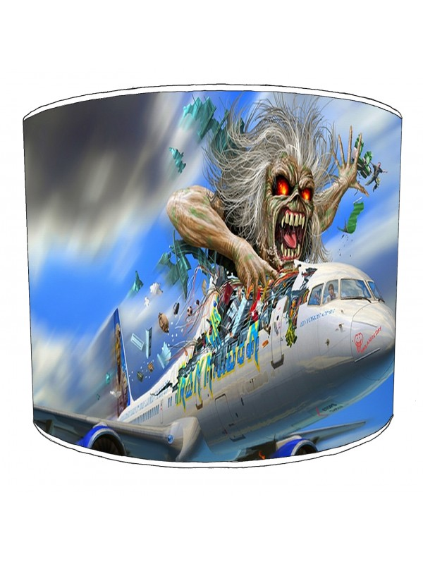 iron maiden ed force one lampshade