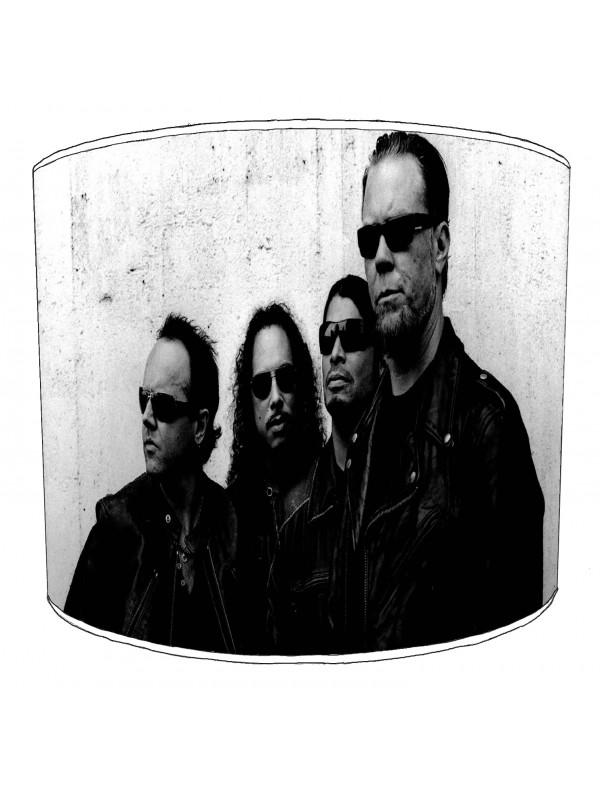 metallica rock bands lampshade 4
