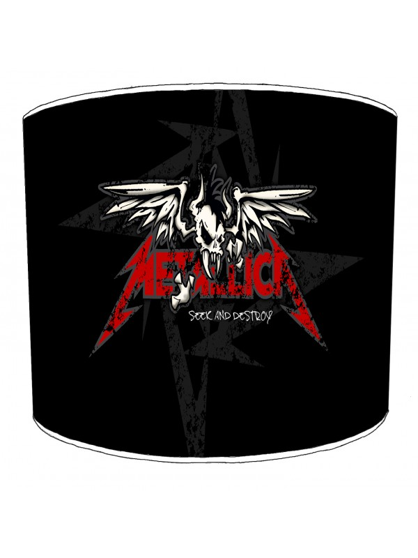metallica rock bands lampshade 5