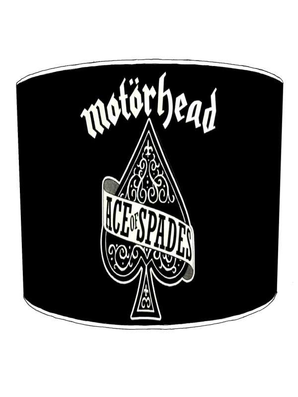motorhead rock bands lampshade 1