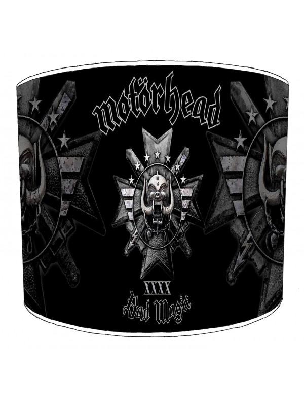 motorhead rock bands lampshade 2
