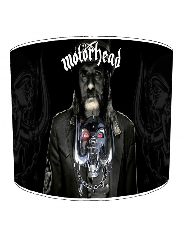 motorhead rock bands lampshade 6