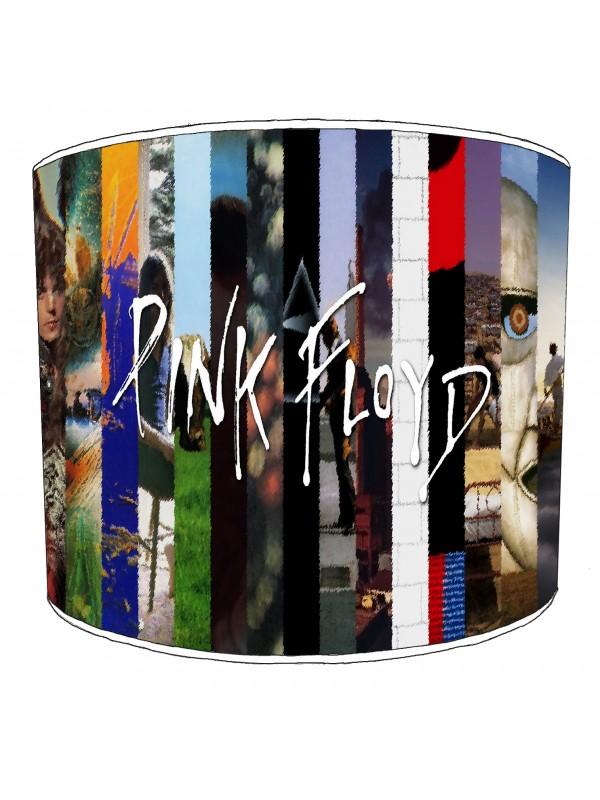 pink floyd album strips lampshade