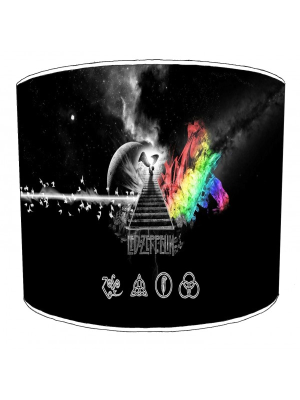 led zeppelin rock bands lampshade 1