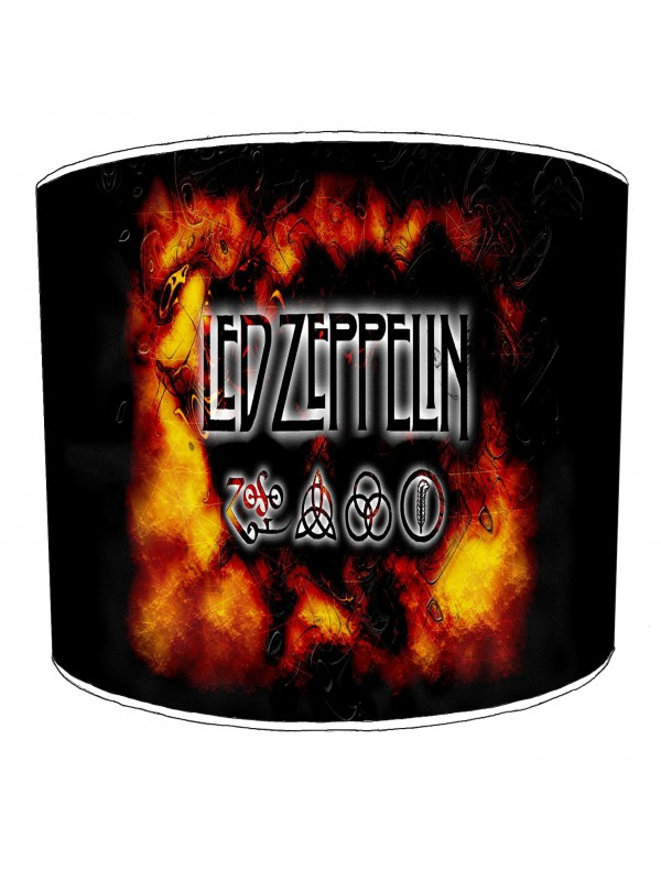 led zeppelin rock bands lampshade 5
